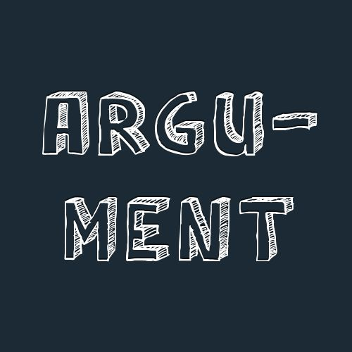 """2 Collective Noun Examples With """"Argument"""""""